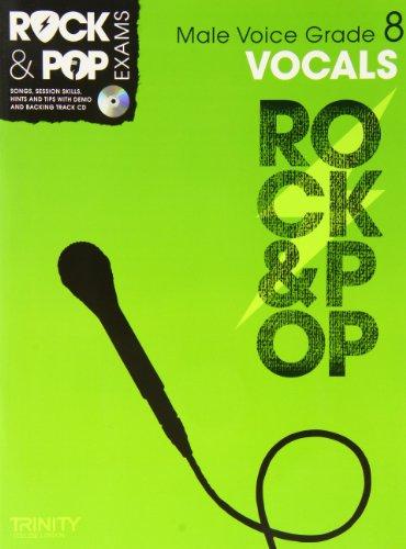 9780857362629: Trinity Rock & Pop Exams: Vocals Grade 8 (Male Voice)