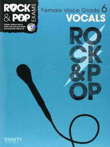 9780857362636: Trinity Rock & Pop Exams: Vocals Grade 6 (Female Voice)