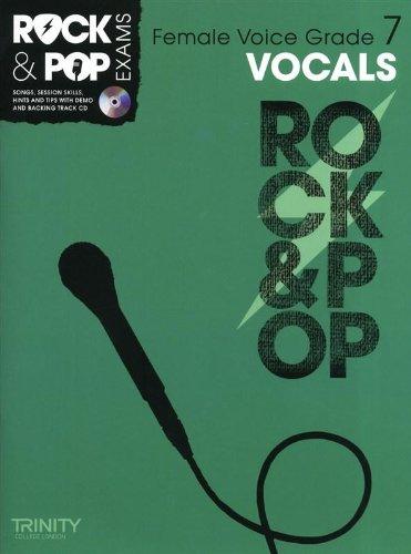 9780857362643: Trinity Rock & Pop Exams: Vocals Grade 7 (Female Voice)