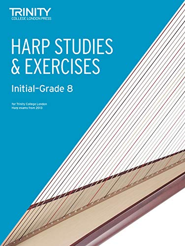 9780857363008: Harp Studies & Exercises Initial-Grade 8
