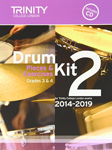9780857363145: Drum Kit 2014-2019 Book 2 Grades 3 & 4 (With Free Audio CD)