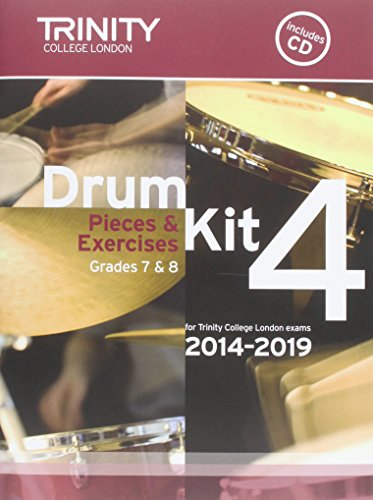 9780857363169: Drum Kit 2014-2019 Book 4 Grades 7 & 8