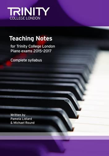 9780857363466: Piano 2015 - 17 Teaching Notes