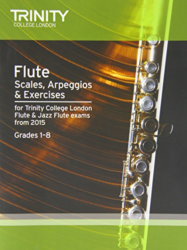 9780857363817: Flute & Jazz Flute Scales & Arpeggios from 2015: Grades 1 - 8