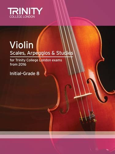9780857364319: Violin Scales, Exercises & Studies Initial-Grade 8 from 2016