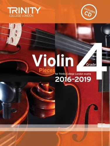 9780857364487: Violin Exam Pieces Grade 4 2016-2019 (Score, Part & CD)