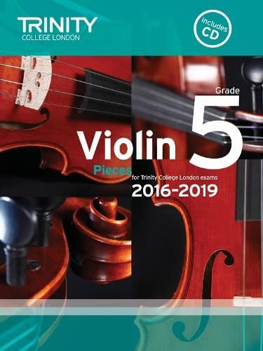 9780857364494: Violin Exam Pieces Grade 5 2016-2019 (Score, Part & CD)