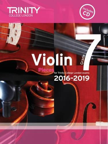 9780857364517: Violin Exam Pieces Grade 7 2016-2019 (Score, Part & CD)