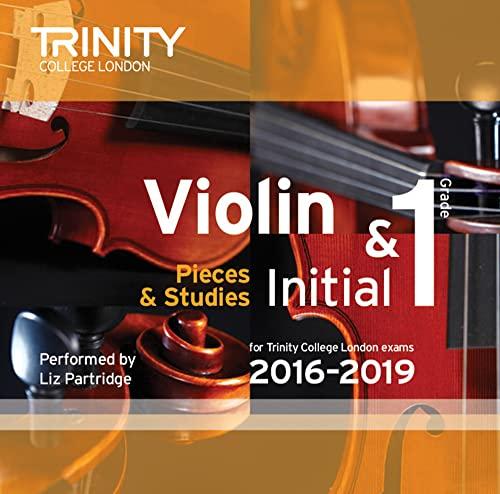 9780857364623: Violin CD Initial & Grade 1 2016-2019 (Trinity Repertoire Library)