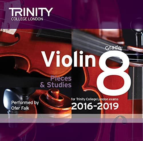 Violin CD Grade 8 2016-2019: Trinity College London