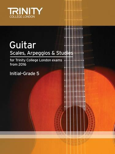 9780857364814: Guitar & Plectrum Guitar Scales & Exercises Initial-Grade 5 from 2016