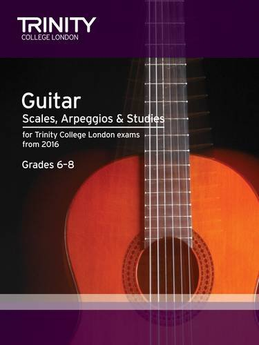 9780857364821: Guitar & Plectrum Guitar Scales & Exercises Grade 6-8 from 2016