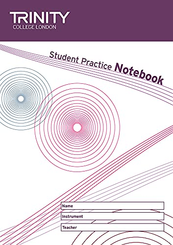 Student Practice Notebook (Sheet music): Trinity College London