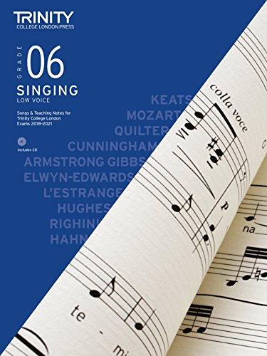 9780857365927: Trinity College London Singing 2018-2021 Grade 6 (Low Voice)