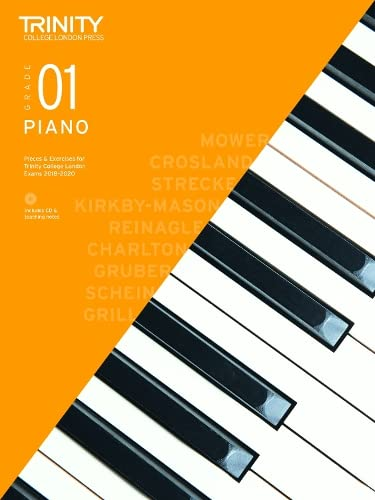 9780857366085: Trinity College London Piano Exam Pieces & Exercises 2018-2020. Grade 1 (with CD) (Piano 2018-2020)