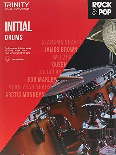9780857366382: Trinity College London Rock & Pop 2018 Drums Initial Grade (Trinity Rock & Pop)