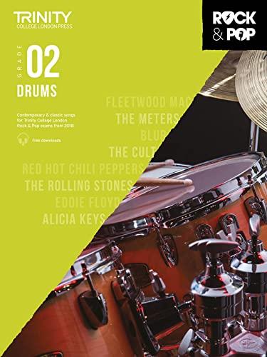 9780857366405: Trinity College London Rock & Pop 2018 Drums Grade 2