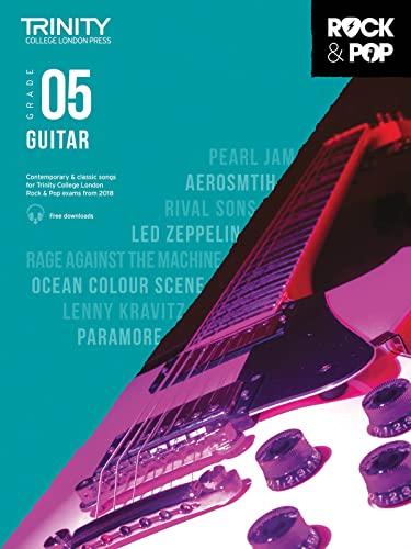 9780857366528: Trinity College London Rock & Pop 2018 Guitar Grade 5 (Trinity Rock & Pop 2018)