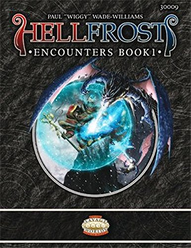 9780857440037: Hellfrost Encounters, Book 1 (Savage Worlds)