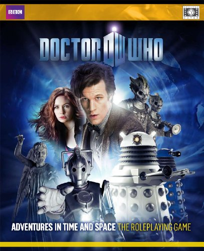 9780857440389: Doctor Who Adventures in Time and Space: The Roleplaying Game [With Dice and Player's Guide, Gamemaster's Guide, Tokens]