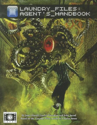 9780857440532: Laundry Files Agents Handbook *OP (Laundy RPG)