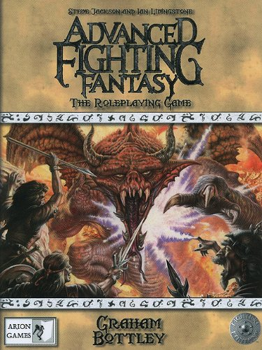 9780857440679: Advanced Fighting Fantasy RPG