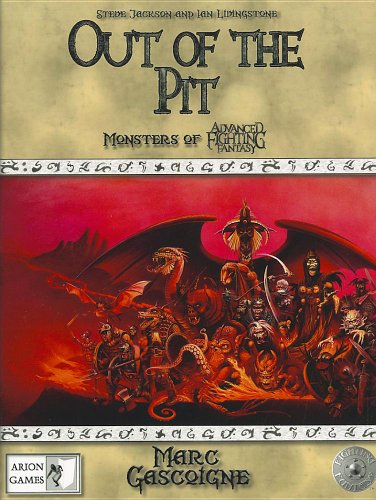 9780857440686: Out of the Pit: Monsters of Advanced Fighting Fantasy