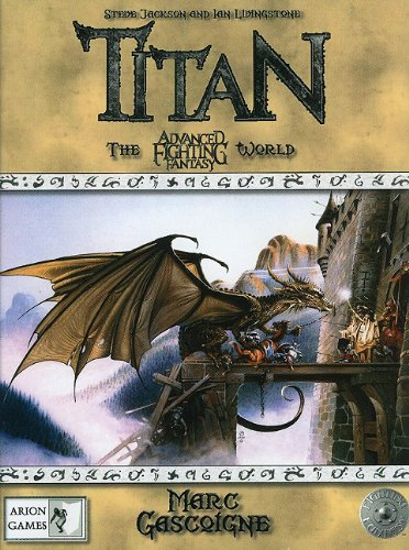 9780857440693: Titan: The Fighting Fantasy World