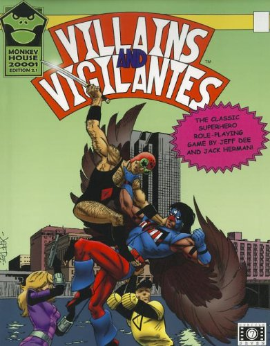 9780857440815: Villains and Vigilantes: Superhero Role Play Version 2.1