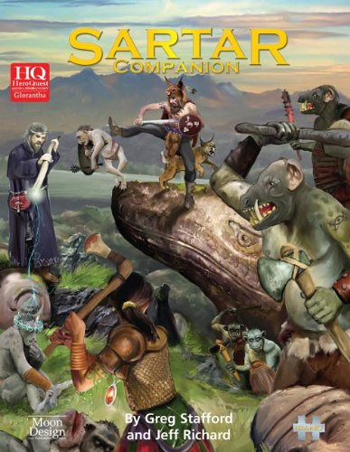 9780857441058: Sartar Companion (Heroquest Glorantha)