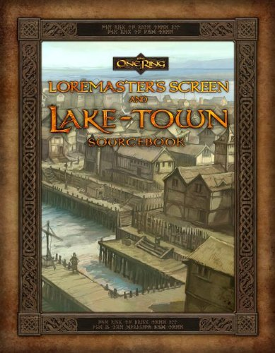 9780857441331: Loremaster's Screen and Lake-Town Sourcebook [With Gameboard] (One Ring)