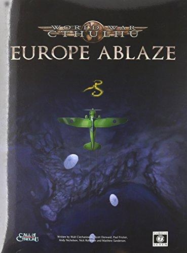 9780857441829: World War Cthulhu. Europe Ablaze