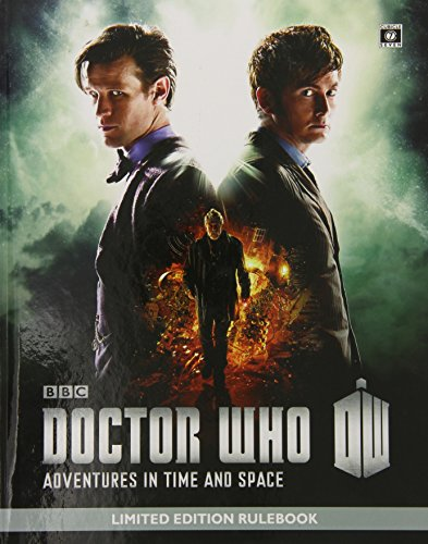 Doctor Who - Adventures in Time and Space Rulebook Limited Edition (Doctor Who (Cubicle Seven)): ...