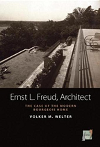9780857452344: Ernst L. Freud, Architect: The Case of the Modern Bourgeois Home