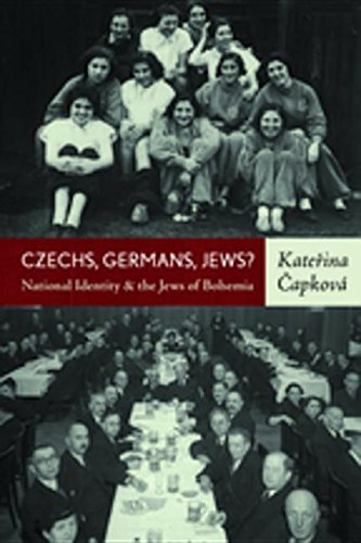 9780857454751: Czechs, Germans, Jews: National Identity and the Jews of Bohemia