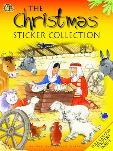 The Christmas Sticker Collection (Paperback): Su Box