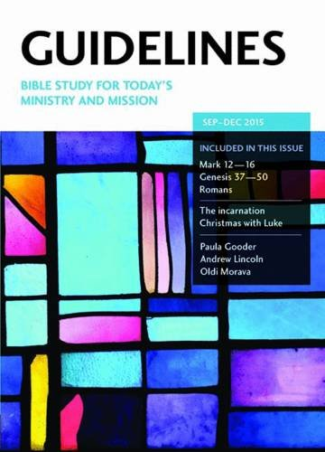9780857461346: Guidelines September - December 2015: Bible Study for Today's Ministry and Mission