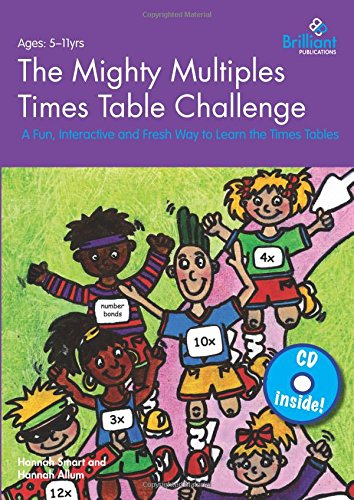 9780857476296: The Mighty Multiples Times Table Challenge