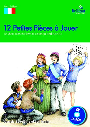 9780857476517: 12 Petites Pièces à Jouer: 12 Short French Plays to Listen to and Act Out