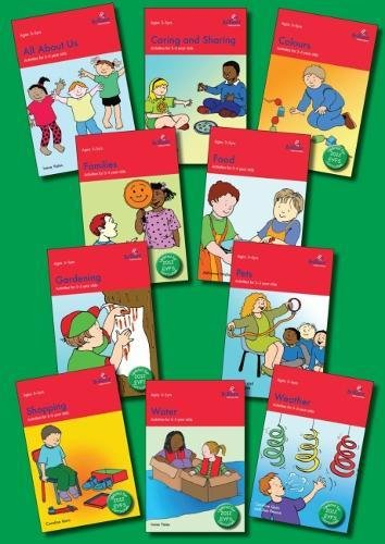 Activities for 3-5 Year Olds Set of 10 books (Paperback): Irene Yates, Caroline Quin, Sue Pearce