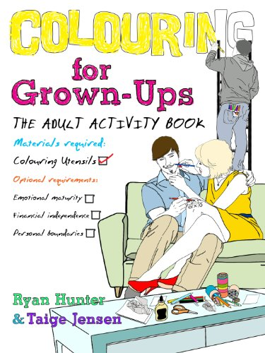 9780857501691: Colouring for Grown-ups: the adult activity book