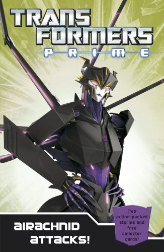 9780857511461: Transformers Prime: Airachnid Attacks!: Book 4 (Transformers Prime Chapter Bk)