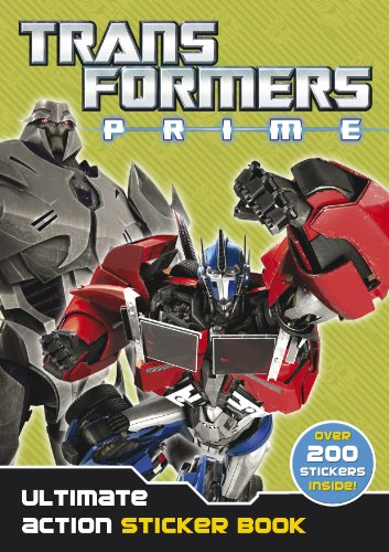 9780857511980: Transformers Prime: Ultimate Action Sticker Book