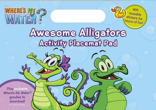 Where's My Water: Awesome Alligators Activity Placemat Pad (0857513303) by Walt Disney Pictures