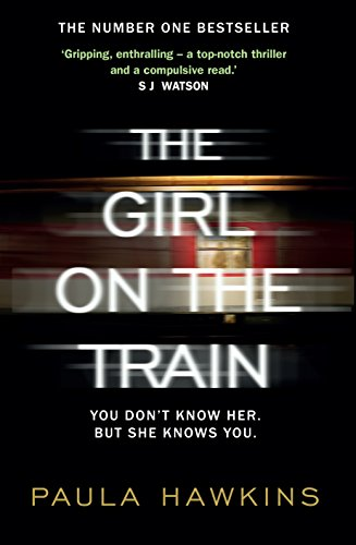 THE GIRL ON THE TRAIN - SIGNED & PRE-PUBLICATION DATED FIRST EDITION FIRST PRINTING.