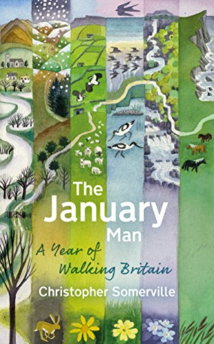 9780857523631: The January Man: A Year of Walking Britain
