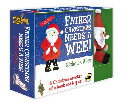 9780857540096: Father Christmas Needs a Wee: Book and Toy set