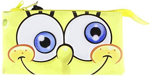 9780857572103: Spongebob 3 Pocket Pencil Case X 6