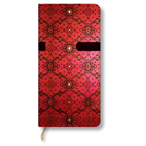 9780857576989: French Ornate Cerise Slim Journal