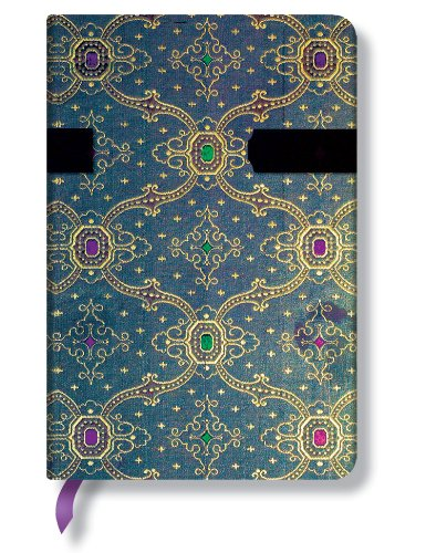 9780857577009: French Ornate Mini Bleu Journal (Paperblanks)